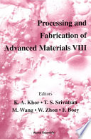 Processing and Fabrication of Advanced Materials VIII