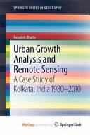 analysis of urban growth and sprawl from remote sensing data bhatta basudeb