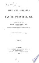 The life and speeches of Daniel O'Connell edited by his son John O'Connell