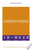 Assertiveness In A Week