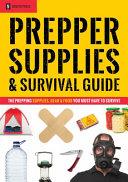 Prepper Supplies   Survival Guide