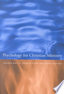 Psychology for Christian Ministry