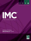 2018 International Mechanical Code  Loose Leaf Version
