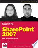 Beginning SharePoint 2007 Book