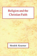 Religion and the Christian Faith