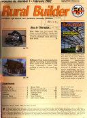Rural Builder Book