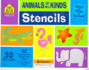 Animals Of All Kinds Stencil