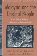 Malaysia and the  original People
