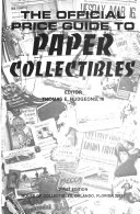 The Official Price Guide To Paper Collectibles