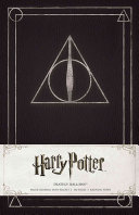 Harry Potter Deathly Hallows Hardcover Ruled Journal Book