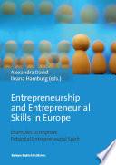 Entrepreneurship and Entrepreneurial Skills in Europe