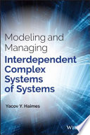 Modeling and Managing Interdependent Complex Systems of Systems Book