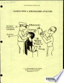 Occupational Safety Aid  Conducting a Job Hazard Analysis  B s1967 b s Book