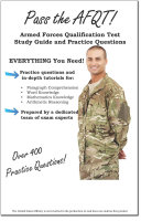 Pass the AFQT Armed Forces Qualification Test Study Guide and Practice Questions