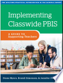 Implementing Classwide PBIS Book