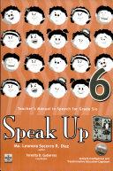 Speak Up 6 Teacher s Manual1st Ed  2007