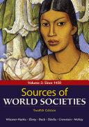 Sources of World Societies  Volume 2
