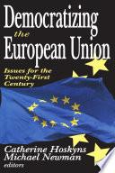 Democratizing the European Union