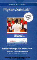 Myservsafe Lab with Pearson Etext -- Access Code -- For Servsafe Manager 6e Revised