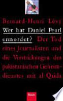 Wer hat Daniel Pearl ermordet ?