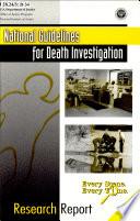 National Guidelines for Death Investigation