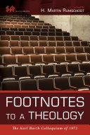 Footnotes to a Theology Pdf/ePub eBook