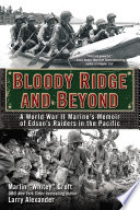 Bloody Ridge And Beyond Book