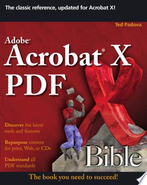 Download Adobe Acrobat X PDF Bible online Books - godinez books