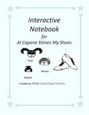 Al Capone Shines My Shoes Interactive Notebook