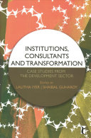 Institutions, Consultants and Transformation