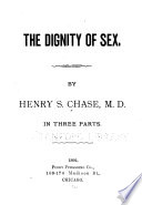 The Dignity of Sex