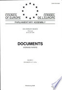 Parliamentary Assembly Documents Working Papers 2000 Ordinary Session Third Part Volume Iv