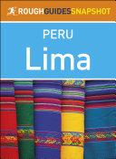Lima  Rough Guides Snapshot Peru