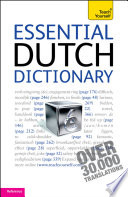 Essential Dutch Dictionary Teach Yourself