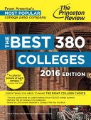 The Best 380 Colleges, 2016 Edition: Everything You Need to Make the ...