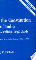 THE CONSTITUTION OF INDIA A Politico-Legal Study
