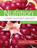 Nutrition  A Health Promotion Approach Third Edition