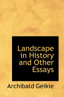 Landscape in History and Other Essays Book PDF