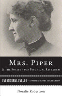 Mrs. Piper and the Society for Psychical Research Pdf/ePub eBook