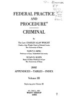 Federal Practice and Procedure