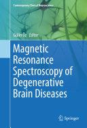 Magnetic Resonance Spectroscopy of Degenerative Brain Diseases Pdf