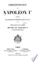 Correspondence de Napoléon Ier