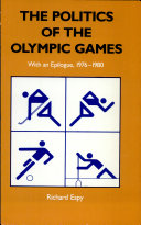 The Politics of the Olympic Games