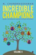 Incredible Champions     Volume II