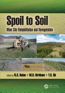 Spoil to Soil: Mine Site Rehabilitation and Revegetation Book