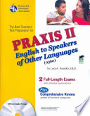 The Best Teachers' Test Preparation for the Praxis II English to Speakers of Other Languages (0360) Test