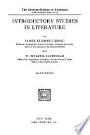 Introductory Studies in Literature