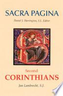 Sacra Pagina Second Corinthians