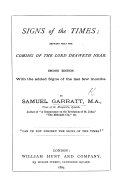 Signs of the times  shewing that the coming of the Lord draweth near