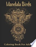 Mandala Birds Coloring Book For Adults